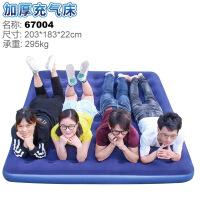 充气床垫 空气床户外休闲充气床 透气植绒床垫