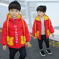 儿童装男童棉衣外套男宝宝冬季婴儿秋冬装小童潮