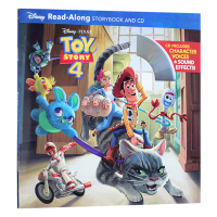迪士尼独立阅读系列 玩具总动员4 Toy Story 4 Read Along Storybook and CD 英文原