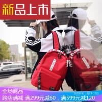 双肩背包书包女男大高中学生韩版新款校园原宿港院风ulng