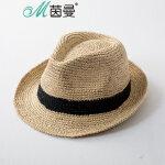 茵曼遮阳帽女防晒帽子夏天沙滩帽防紫外线户外旅游太阳帽休闲百搭【1872190060】