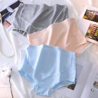 孕妇内裤棉高腰托腹怀孕期透气孕晚期大码可调节裤头孕期孕妇内裤