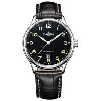 瑞士迪沃斯DAVOSA -Gentleman 绅士系列 Classic 经典之作 16145651 机械男士手表【好礼