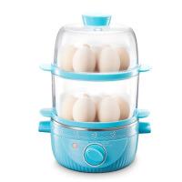 家用煮蛋器 自动断电 迷你蒸蛋器双层煮蛋机不锈钢定时蒸蛋羹