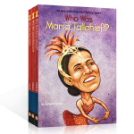 英文原版 who was 系列名人传记3本套装 Who Was Maria Tallchief? Who Was Ja