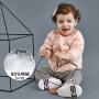 【5折价:149.5】迷你巴拉巴拉童装婴儿羽绒服2018冬新款男女宝宝印花长袖外出外套
