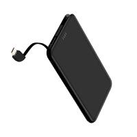 充电宝移动电源便携自带线1万毫安大容量充电宝适用苹果oppo小米type-c手机通用微型女移动电源