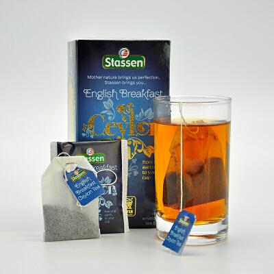 司迪生 英式早餐风味红茶2g*25茶包/盒 斯里兰卡锡兰红茶袋泡茶