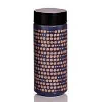 新品乾唐轩活瓷杯闪烁随身杯双层350ml创意陶瓷随手杯子时尚
