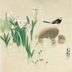 姚桂元《荷塘幽香》著名画家