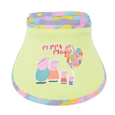 儿童空顶鸭舌帽夏天防晒帽子遮阳帽海边沙滩帽宝宝太阳帽