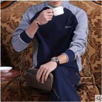 中老年长袖外套 男士运动套装大码卫衣时尚休闲运动服