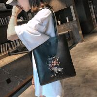 女包手提包大包女2018新款韩版潮时尚学生单肩托特包包