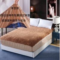 羊毛床垫床褥子双人 1.8m1.5m加厚保暖褥子垫子单人学生