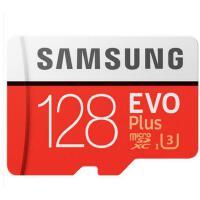 三星(SAMSUNG)128G手机卡UHS-1 EVO Plus TF卡U3存储卡C10 100M/S专业版+ 4K高