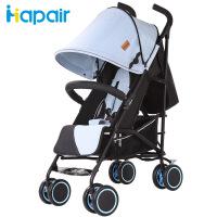 呵宝 婴儿推车四季款婴儿车轻便折叠可坐可躺宝宝推车
