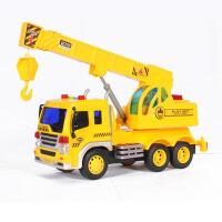 儿童玩具车男孩1-6岁音乐吊车玩具大号工程车吊机起重机