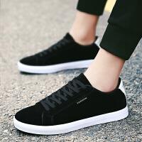夏季新款休闲鞋男鞋子男士小白鞋跑步运动鞋子 男低帮街拍平板潮款透气韩版潮流学生帆布鞋