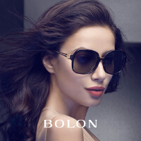 暴龙太阳镜女2016新款时尚个性墨镜 大框高清偏光圆脸太阳眼镜潮BL2309