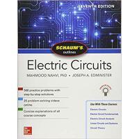英文原版 电路概论,第7版 Schaum's Outline of Electric Circuits, Sevent