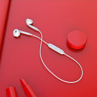 双耳运动式苹果蓝牙耳机无线头戴式跑步耳机迷你挂耳式耳塞式颈挂脖式oppo手机vivo开车 标配
