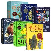 David Walliams 大卫少年幽默成长小说系列6册套装 英文原版 大卫威廉姆斯 儿童文学故事书 Mr Stink