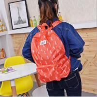 韩版潮流背包卡通动物双肩包折叠登山户外背包