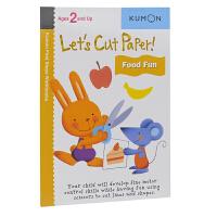Kumon Let's Cut Paper Food Fun 公文式教育 剪一剪食物篇 幼儿英语启蒙 打造天才大脑的益