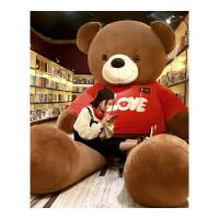 大熊毛绒玩具女生2米泰迪熊熊猫公仔玩偶抱抱熊大号布娃娃送女友