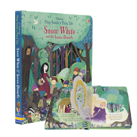 Usborne Peep Inside a Fairy Tale Snow White 偷偷看童话系列 白雪公主洞洞翻