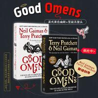 好兆头 英文原版 Good Omens 同名电视剧原著小说 尼尔盖曼 Neil Gaiman 卷福 Michael S
