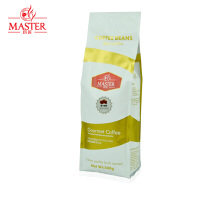 JUJIANG/巨匠 精选金标 摩卡咖啡豆500g 原装进口现磨纯黑咖啡粉