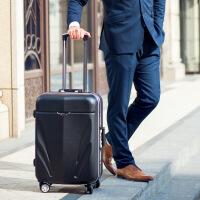 2018新款行李箱男旅行箱24寸万向轮铝框商务拉杆箱密码箱包20登机皮箱子女
