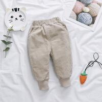 女宝宝秋冬装长裤女童冬季灯芯绒裤子儿童休闲裤