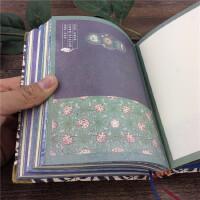 插图古典笔记本文具32K带护角古风笔记本加厚彩页古典本