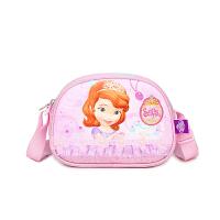 女童包包 儿童斜挎包苏菲亚公主时尚包 美爆小孩可爱小挎包