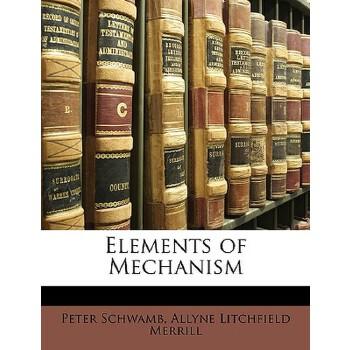 【预订】Elements of Mechanism 预订商品,需要1-3个月发货,非质量问题不接受退换货。