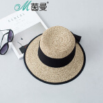 茵曼沙滩帽子韩版女士夏天太阳帽防晒海边凉帽旅游度假遮阳帽百搭【1872191072】