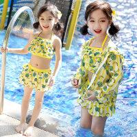 儿童游泳衣婴儿可爱女童防晒分体宝宝分体小中大童