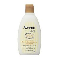 【洗发水354ml】美国直邮 (20年1月)Aveeno艾维诺 天然燕麦柔和 深层滋润婴幼儿 洗发露洗发水 12oz棕
