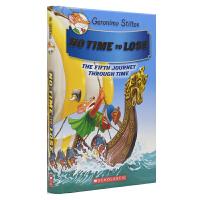 Geronimo Stilton No Time To Lose 老鼠记者穿越时空系列5 刻不容缓 儿童冒险故事全彩桥