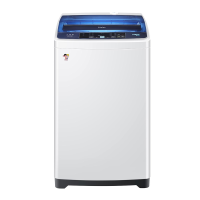 Haier海尔7.2公斤全自动波轮洗衣机EB72M2W 漂甩二合一 混合洗