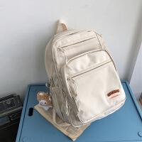 花曦家书包女双肩包夏大学生旅游14寸电脑包简约原创小众旅行背包