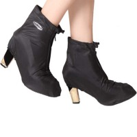 女士高跟防滑厚防雨鞋套防水鞋套雨天鞋套雨靴套