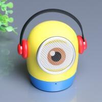 创意无线蓝牙音箱便携式迷你外放插卡重低音炮可插U盘小音响户外