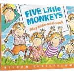 Five Little Monkeys Play Hide and Seek 五只小猴捉迷藏 英文原版 廖彩杏书单 儿
