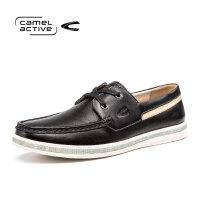 Camel Active/骆驼动感青年春秋皮鞋简约时尚软底男士休闲板鞋