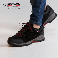 【过年不打烊】诺诗兰新款休闲鞋户外男式耐磨透气低帮徒步鞋FH075502