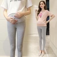 孕妇装夏装托腹外穿九分裤孕妇打底裤春夏季薄款孕妇裤长裤