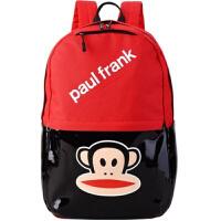 20180823221822364简约户外休闲包大嘴精品时尚背包防水学生书包猴子双肩包 红色 背包